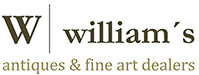 Anticuarios Barcelona | Williams Logo
